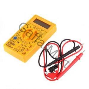 Handheld-DT830B-LCD-Digital-Multimeter-Ammeter-Voltmeter-Ohmmeter-Tester-Yellow