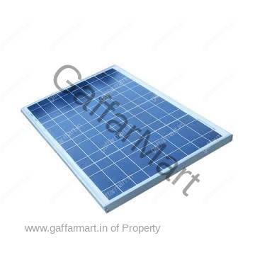 12V Solar Panel 55 Watts Solar Panel | High Quality | With Aluminium Casing