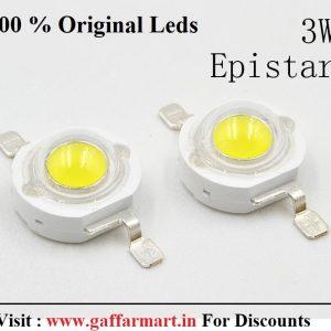 3W RGB LED 3 CHIP 6 Pin colorful Lamp 3 watt High Power LED